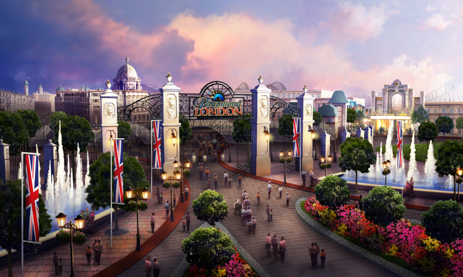 London Paramount Entertainment Resort - concept image, courtesy of London Resort Company Holdings